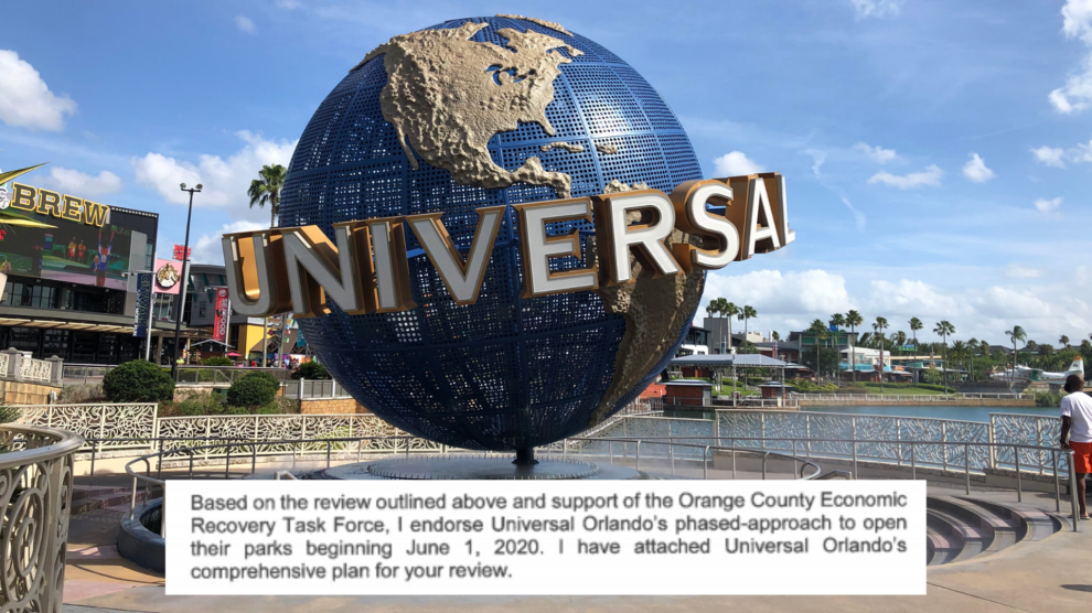 Universal Orlando Planning Phased Reopening In June