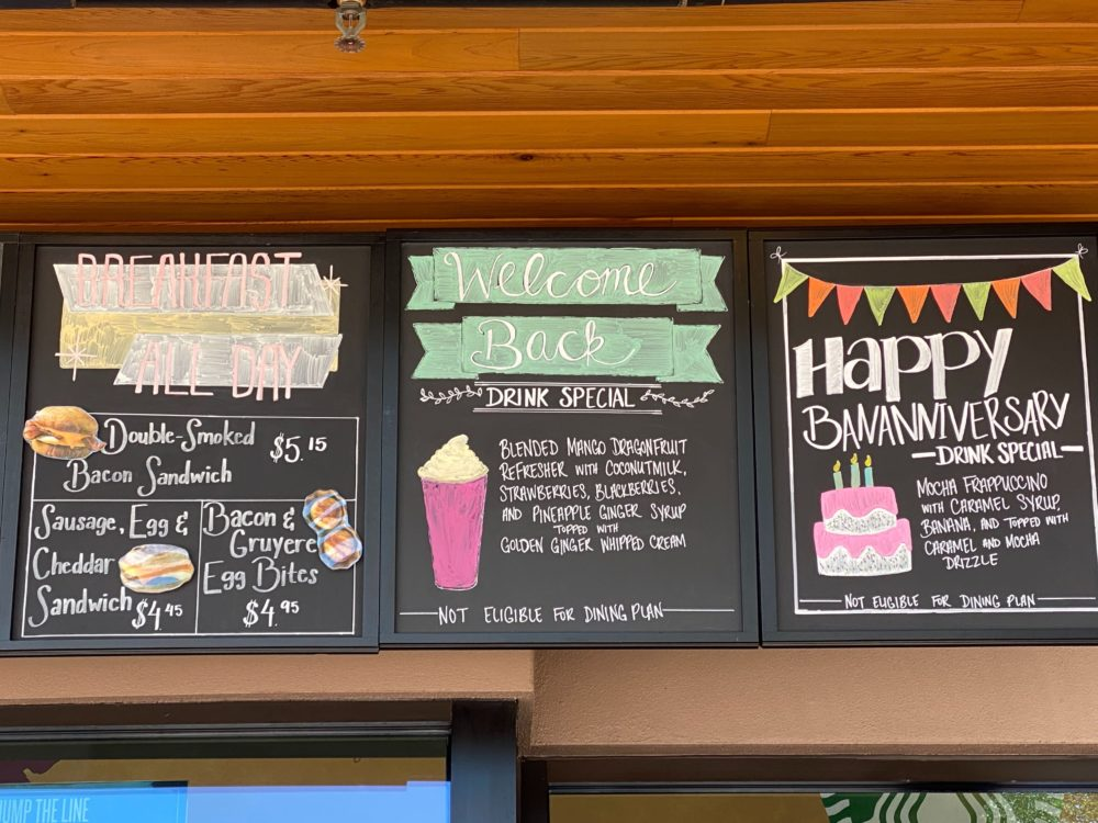 "New Starbucks ""Welcome Home"" Special Drink Available at Disney Springs"