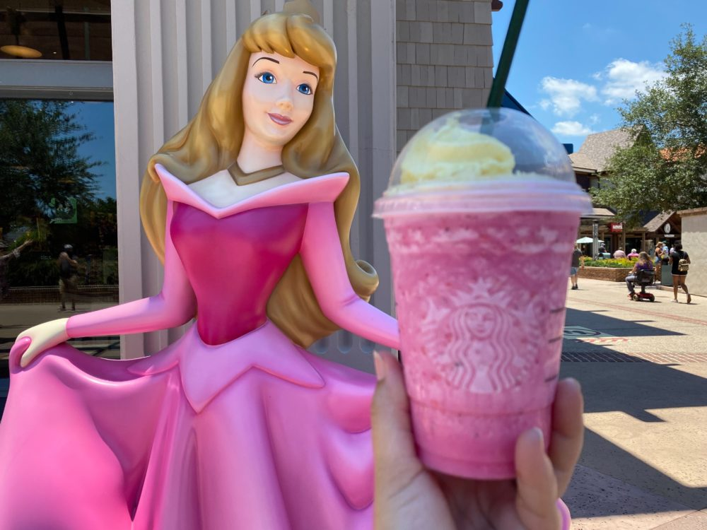 """New Starbucks """"Welcome Home"""" Special Drink Available at Disney Springs"""