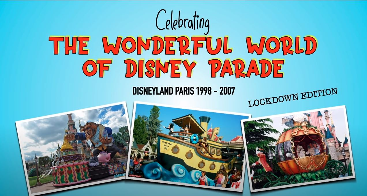 wonderul world of disney parade lockdown dlp cast member video