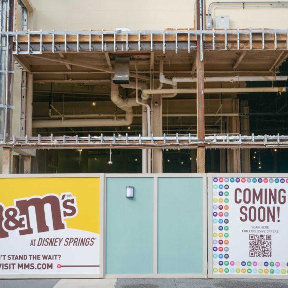 M&M's retail store construction
