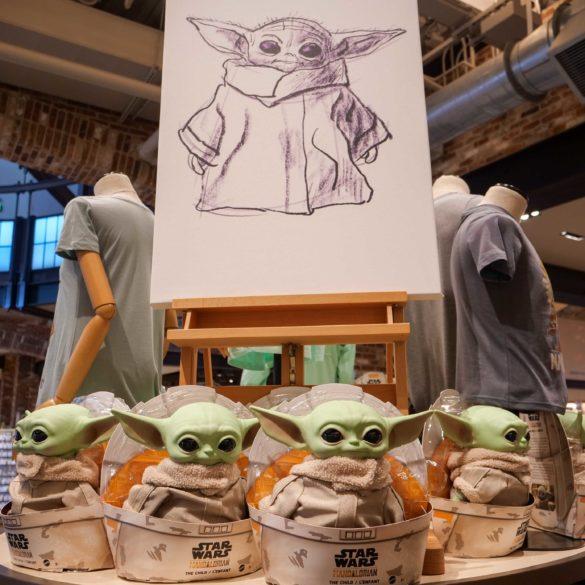 Baby Yoda Disney Springs World of Disney Toy Doll