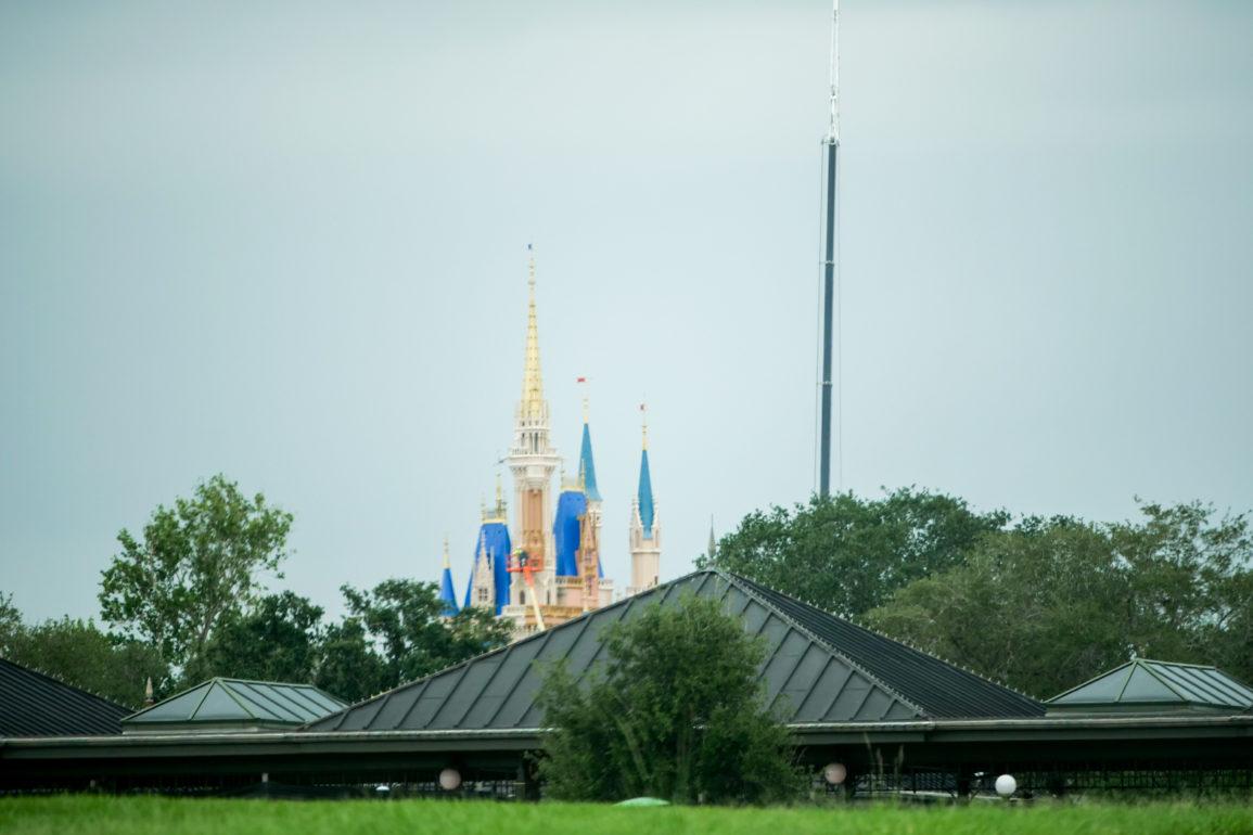 Cinderella Castle Makeover at Magic Kingdom