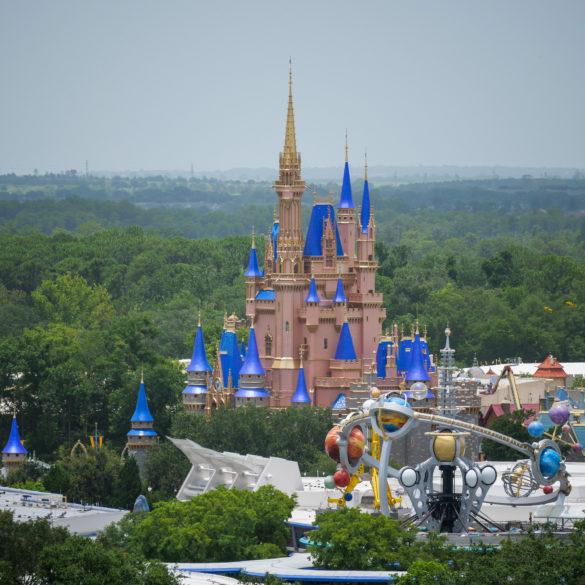 Cinderella Castle Makeover at the Magic Kingdom