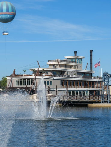 Paddlefish and Aerophile Balloon at Disney Springs
