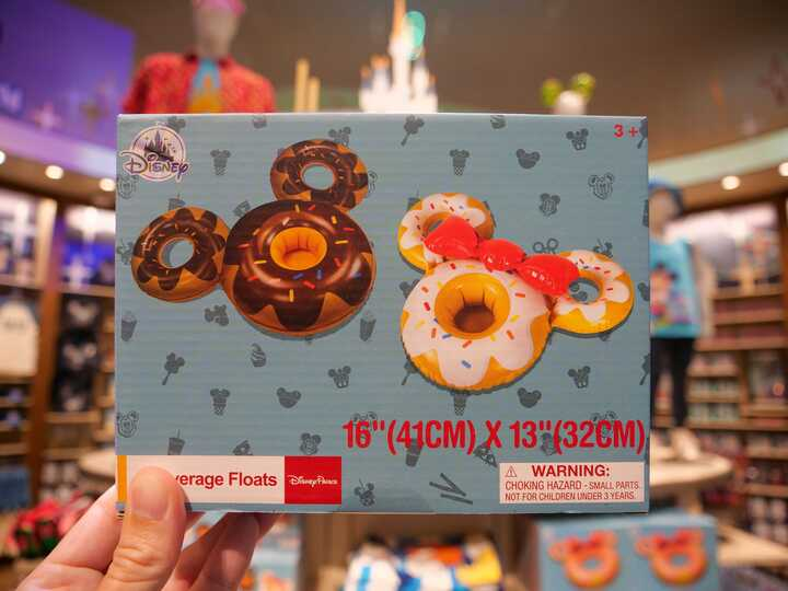 Donut Beverage Float World of Disney