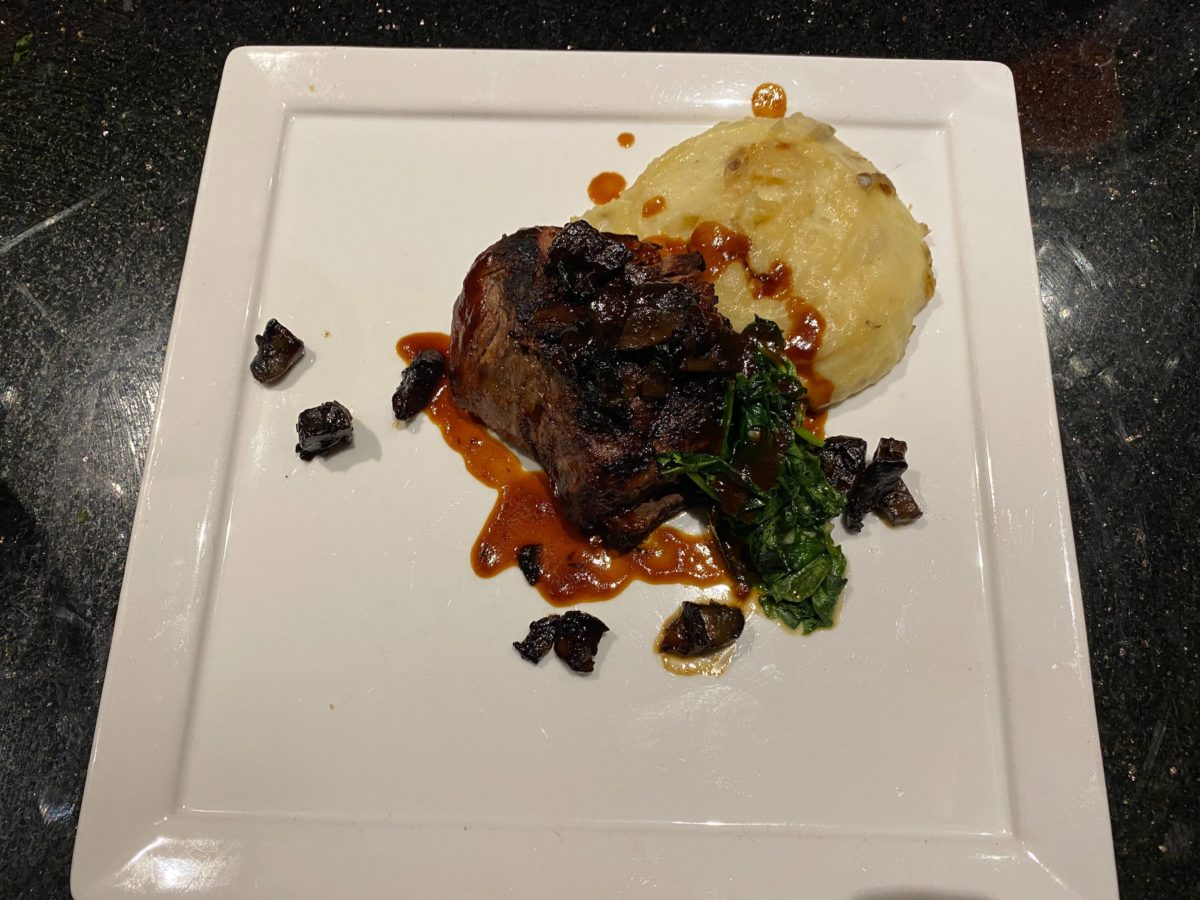 Grilled Filet Mignon The Kitchen Hard Rock Hotel
