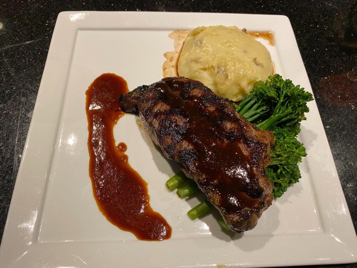 Grilled NY Strip Steak The Kitchen Hard Rock Hotel