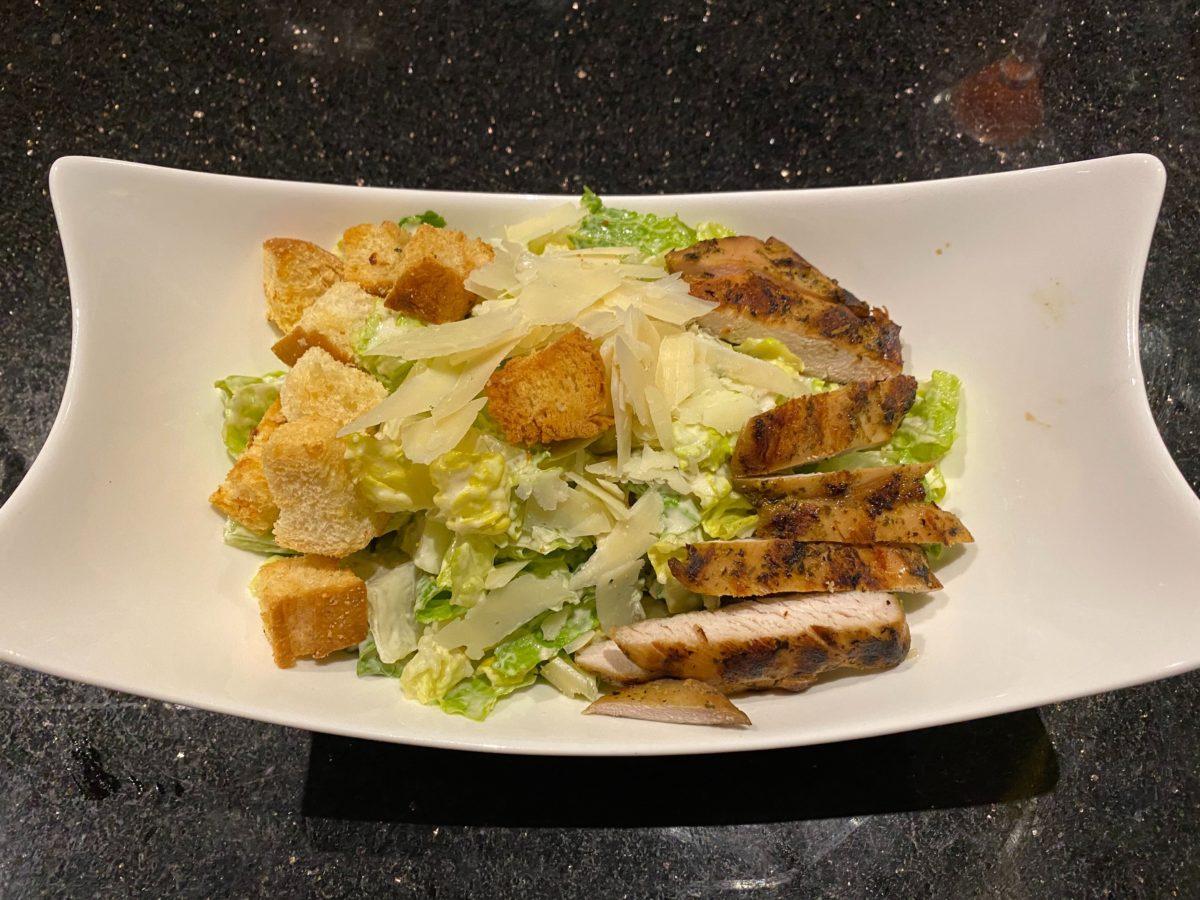 Caesar Salad with Chicken The Kitchen Hard Rock Hotel