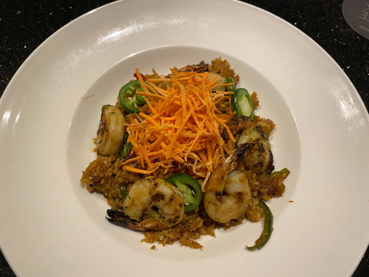 "Stir Fried Cauliflower ""Rice"" (with Shrimp) The Kitchen Hard Rock Hotel"