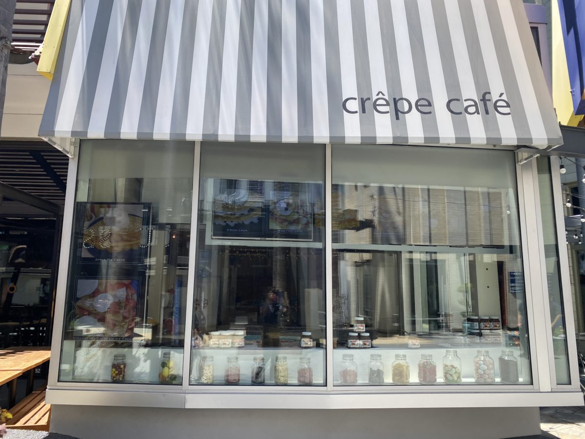 Universal Studios Hollywood Crepes Cafe