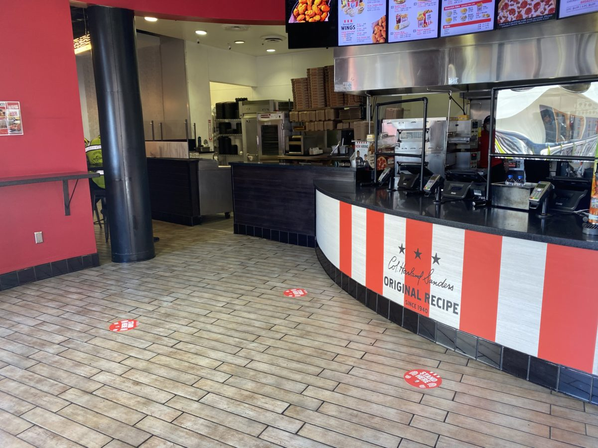Universal Studios Hollywood CityWalk KFC