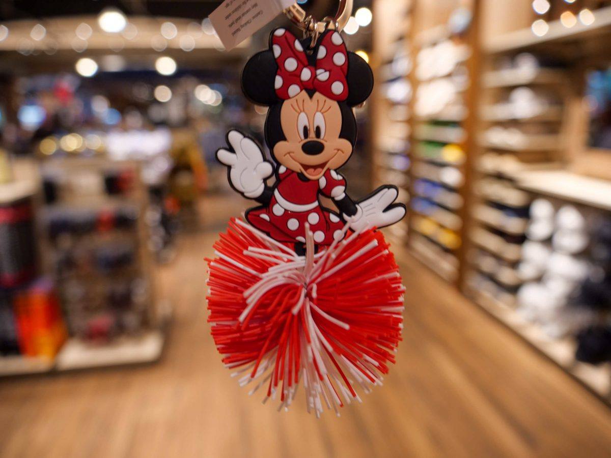 Minnie KooshBall KeyChain