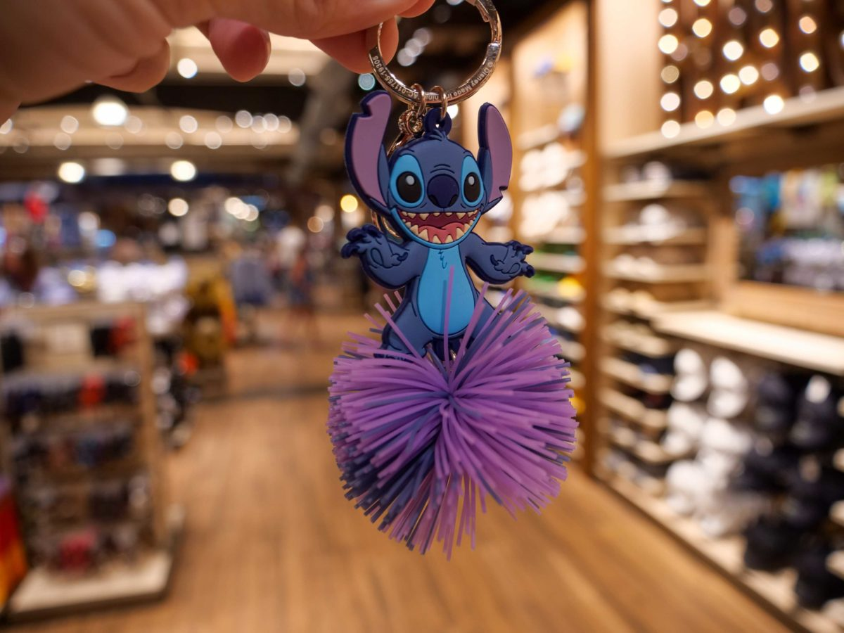 Stitch KooshBall KeyChain