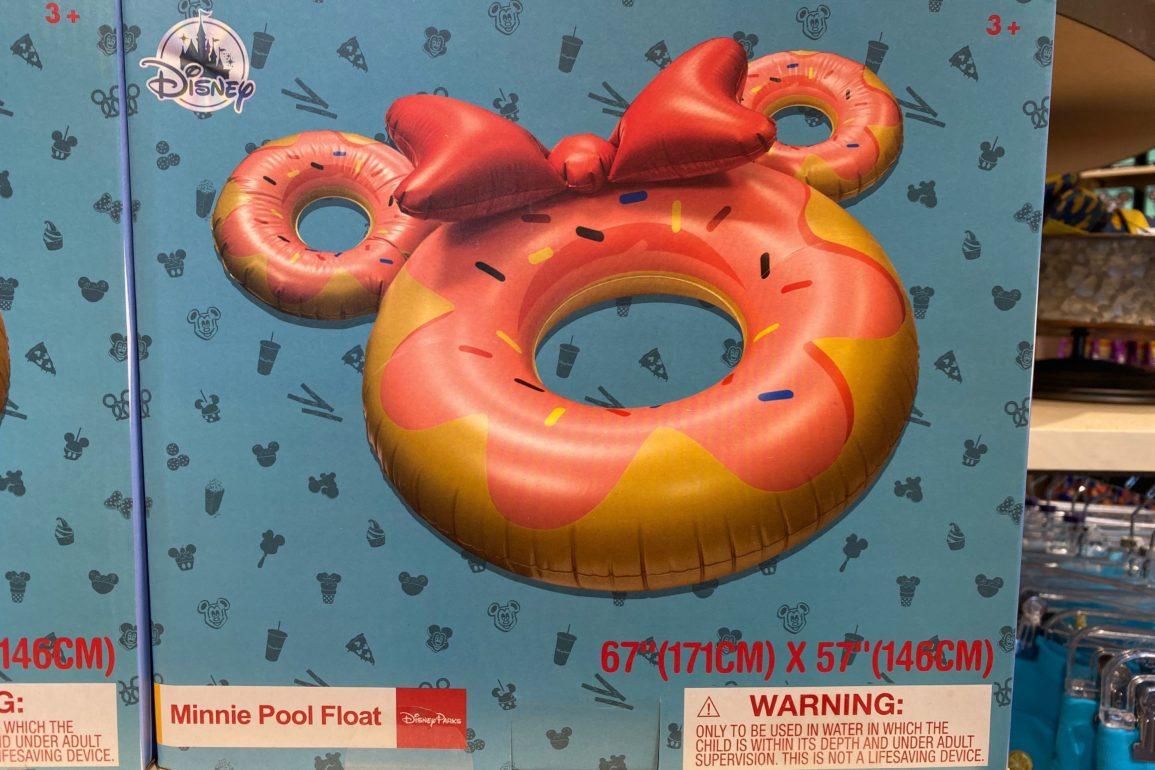 minnie donut pool float