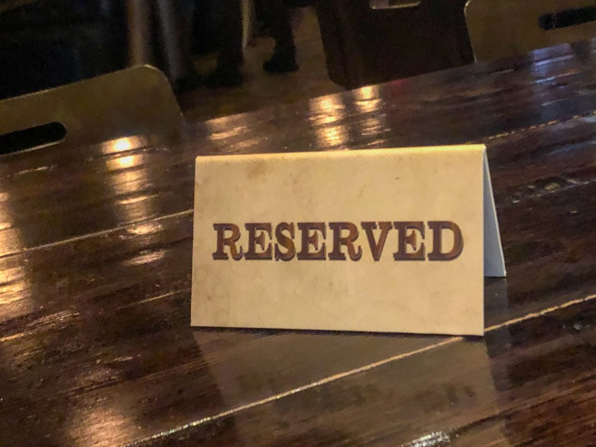 reserved sign citywalk toothsome chocolate emporium