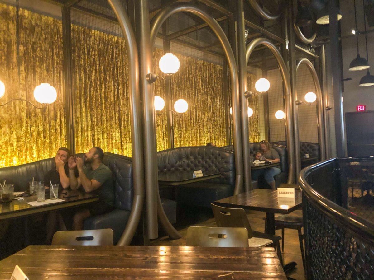 restaurant seating inside toothsome chocolate emporium