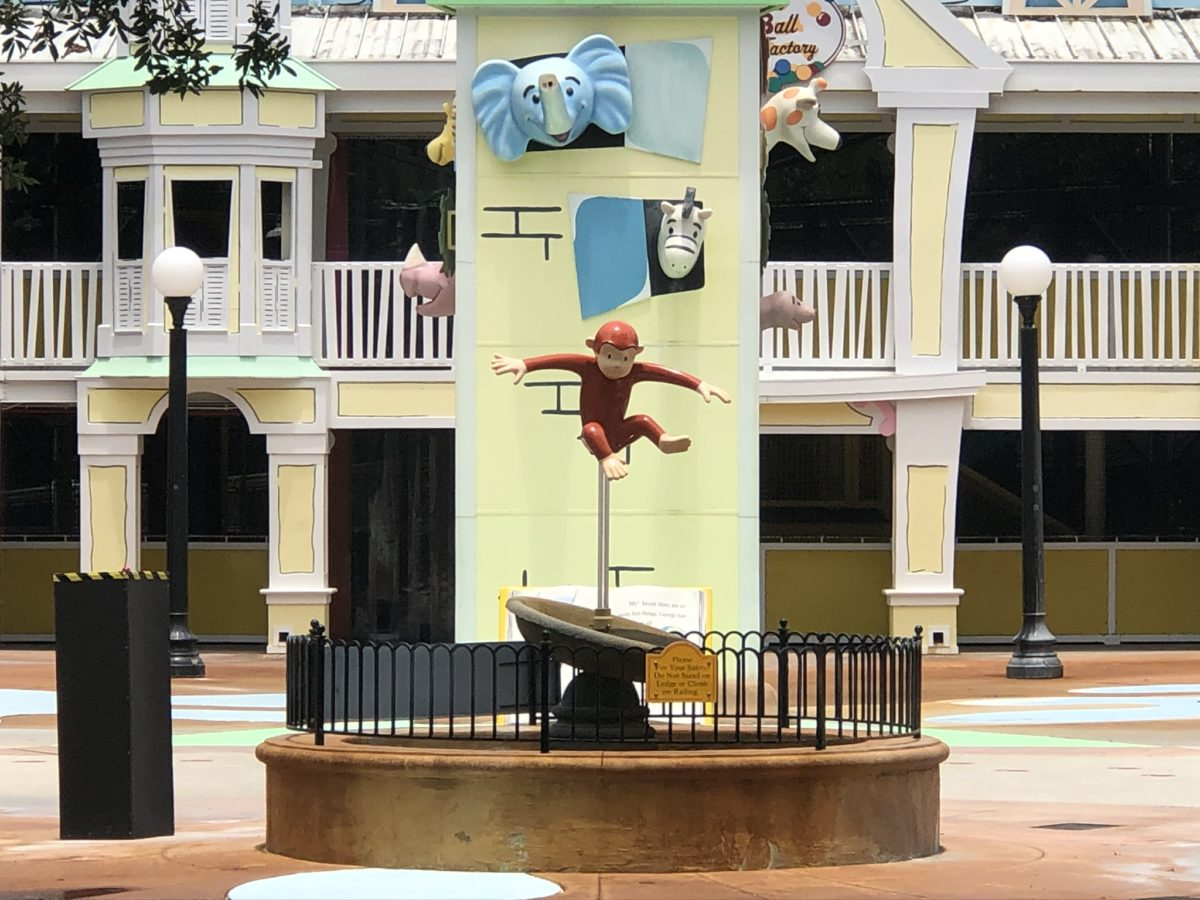 Curious George Goes to Town Playground