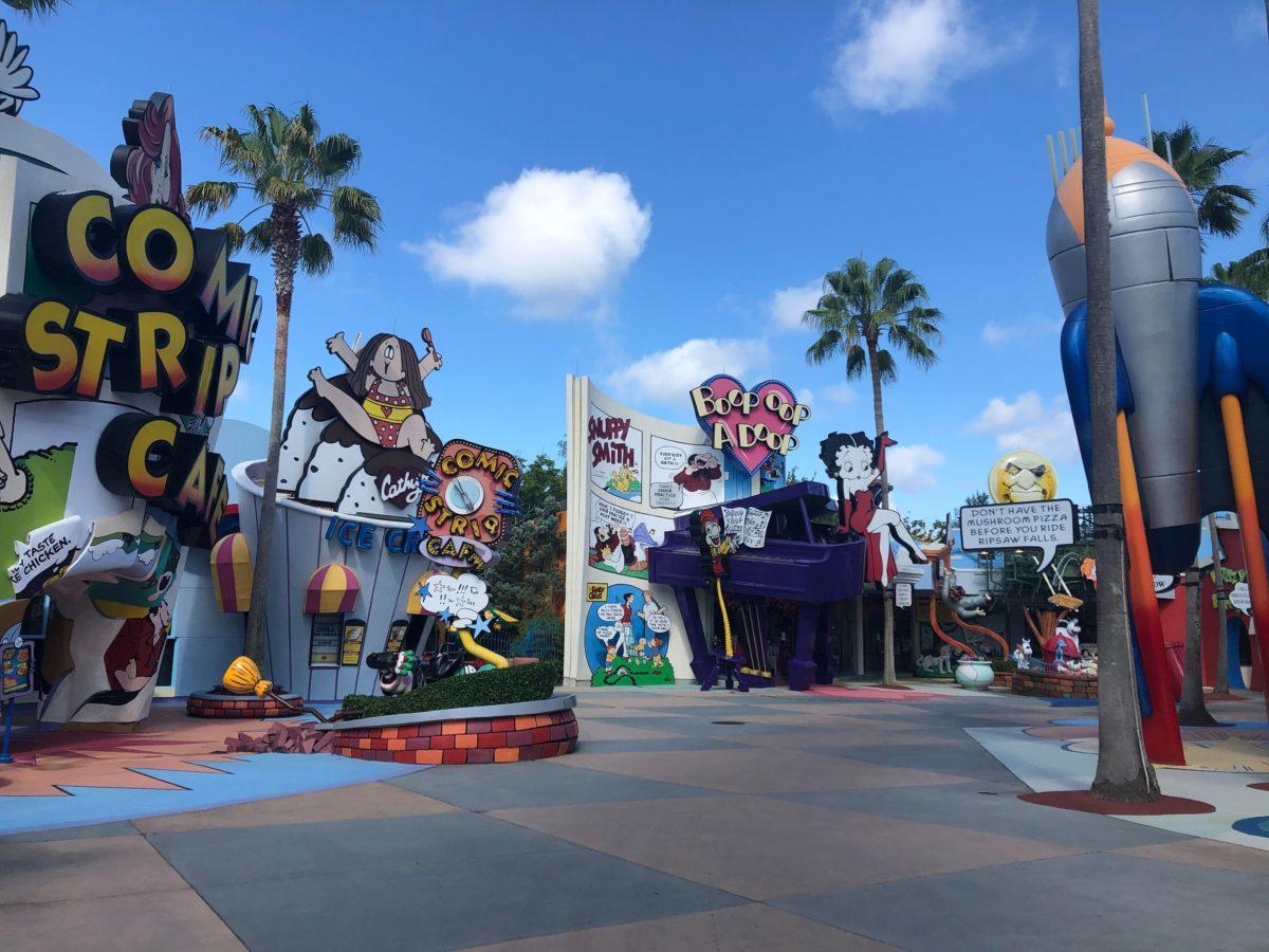 Toon Lagoon Comic Strip Cafe