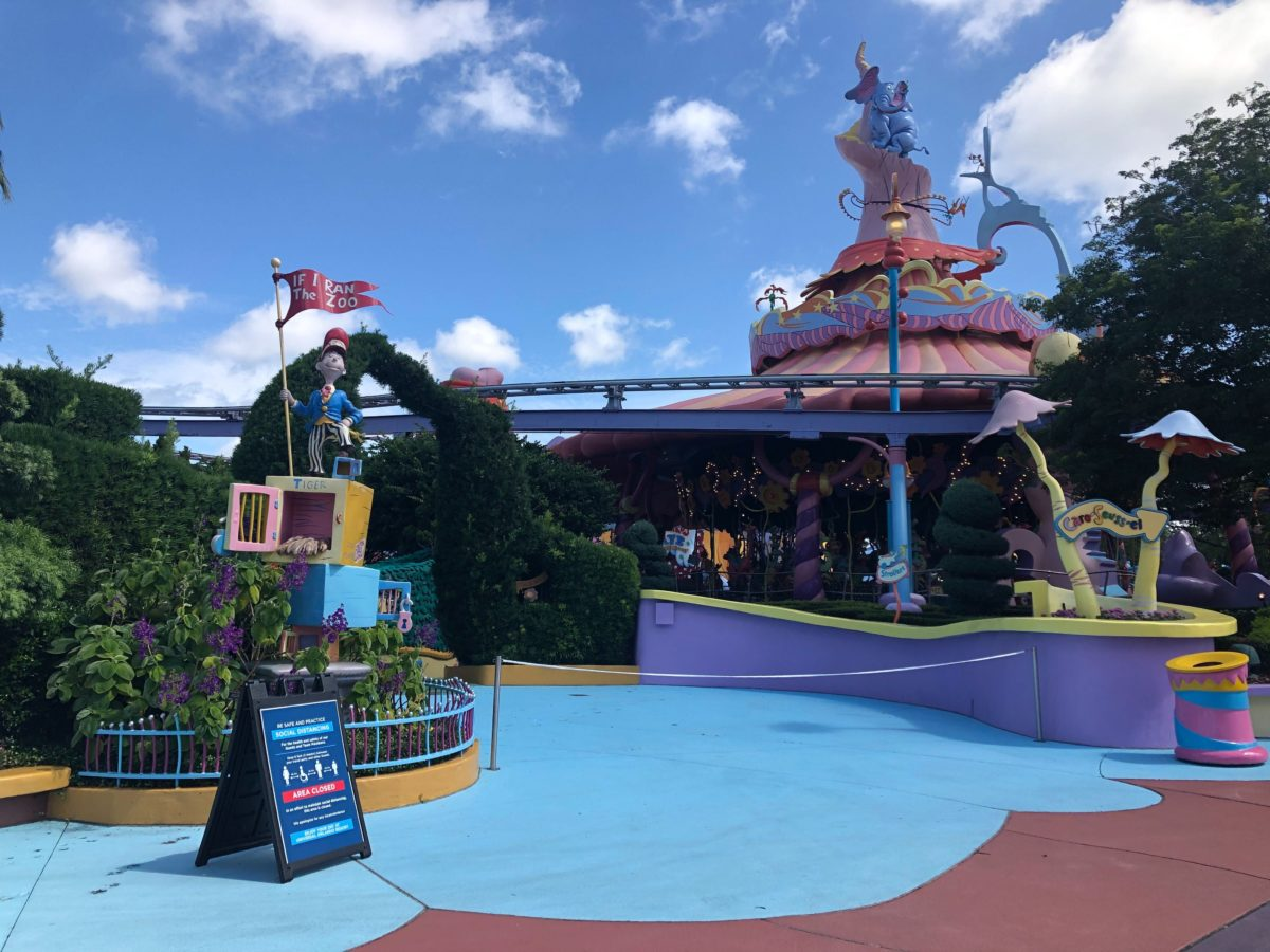 If I Ran the Zoo Seuss Landing Islands of Adventure