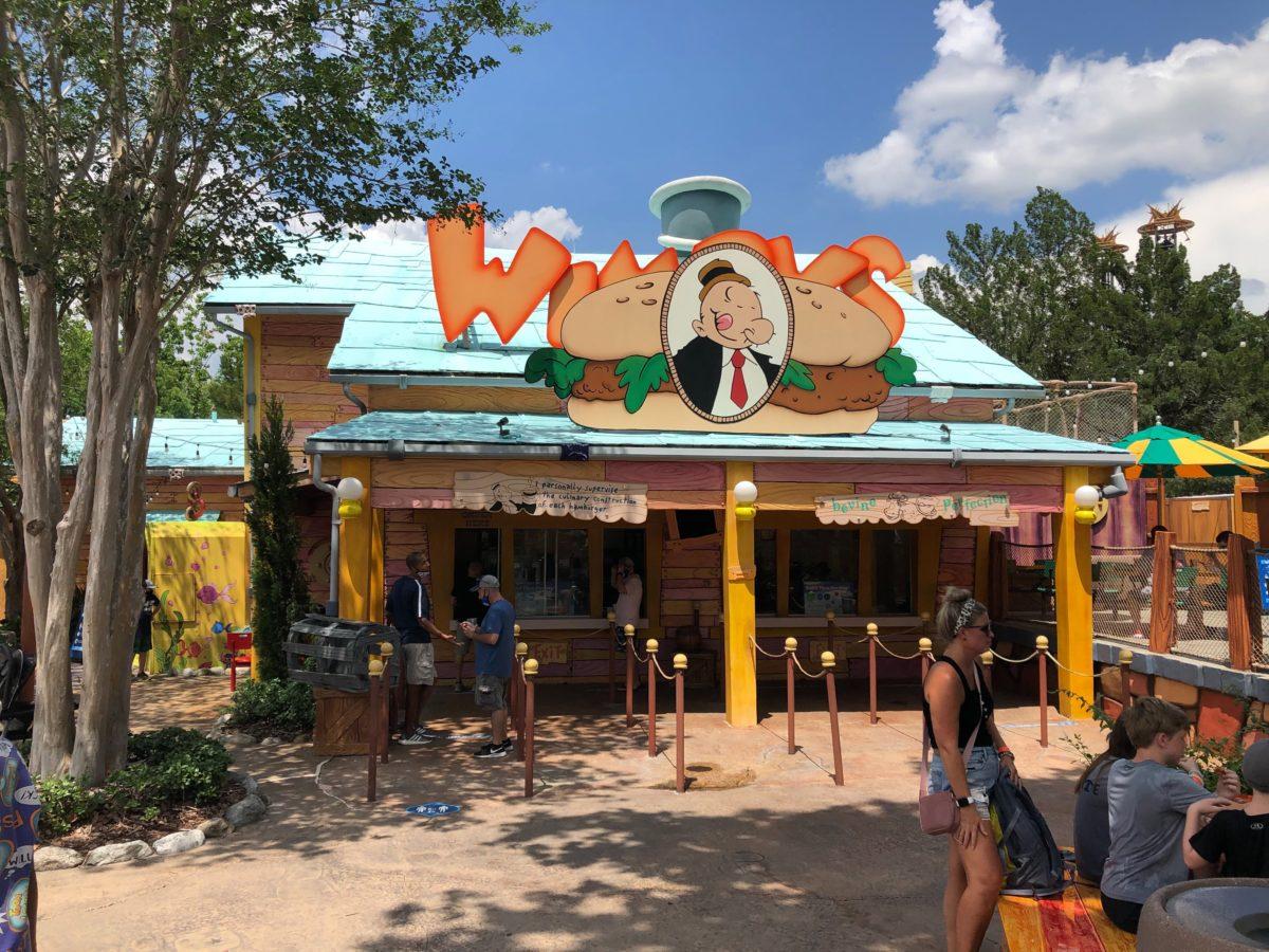 Wimpy's burger islands of advenutre
