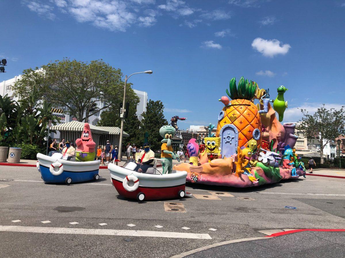 SpongeBob SquarePants Float Universal Studios Florida