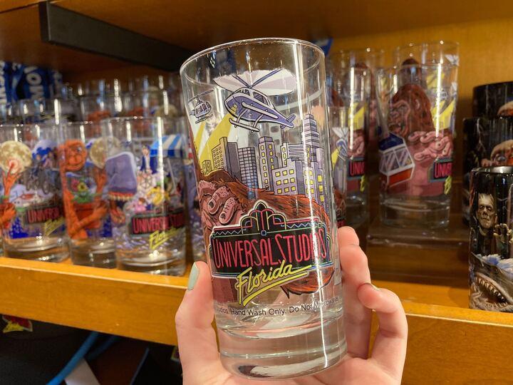 Kongfrontation Vintage Glass