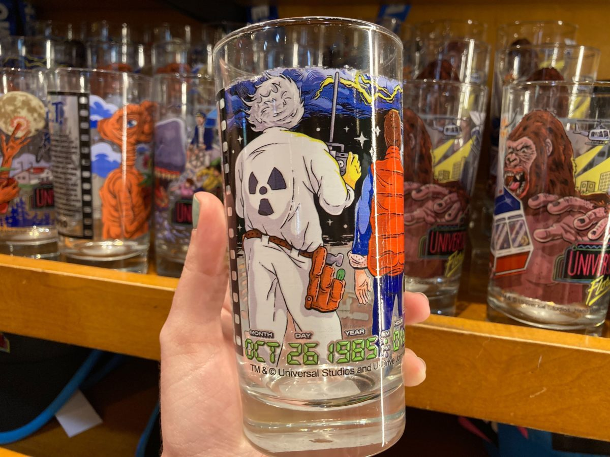 Back to the Future Vintage Glass