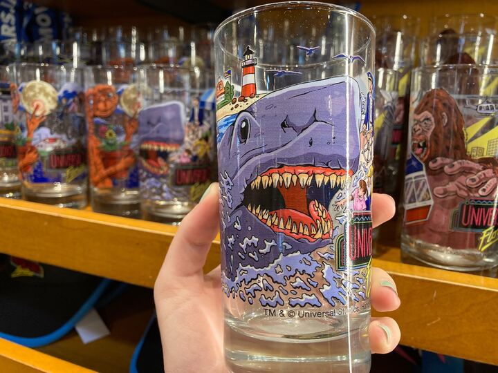 Jaws Vintage Glass