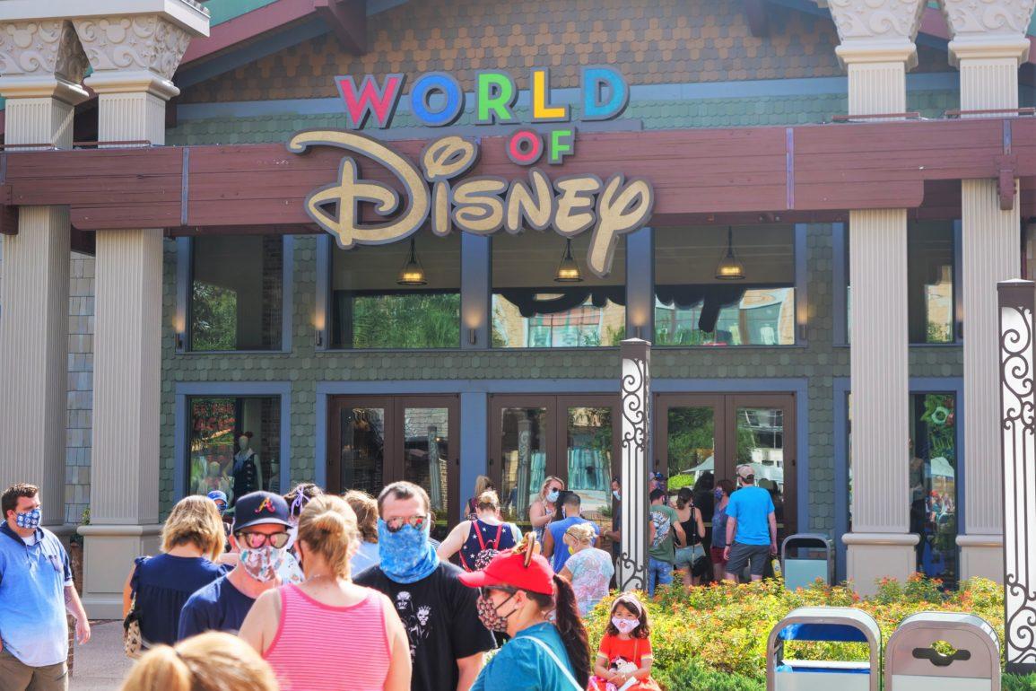 World of Disney Opening Line