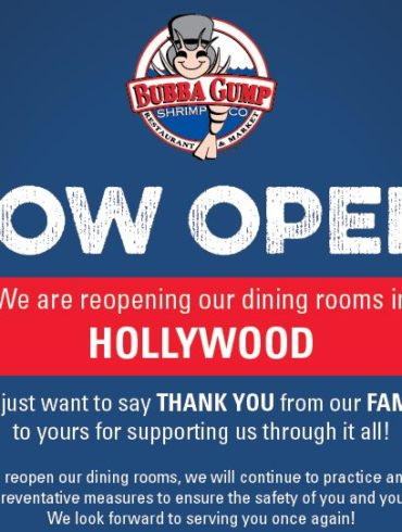 bubba gump hollywood