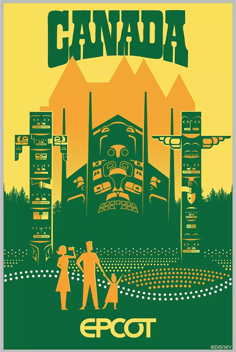 canada serigraph poster