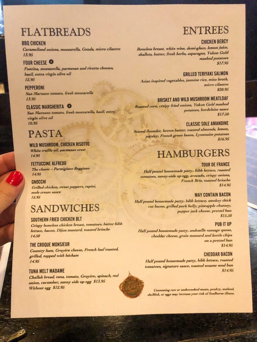 toothsome limited menu citywalk
