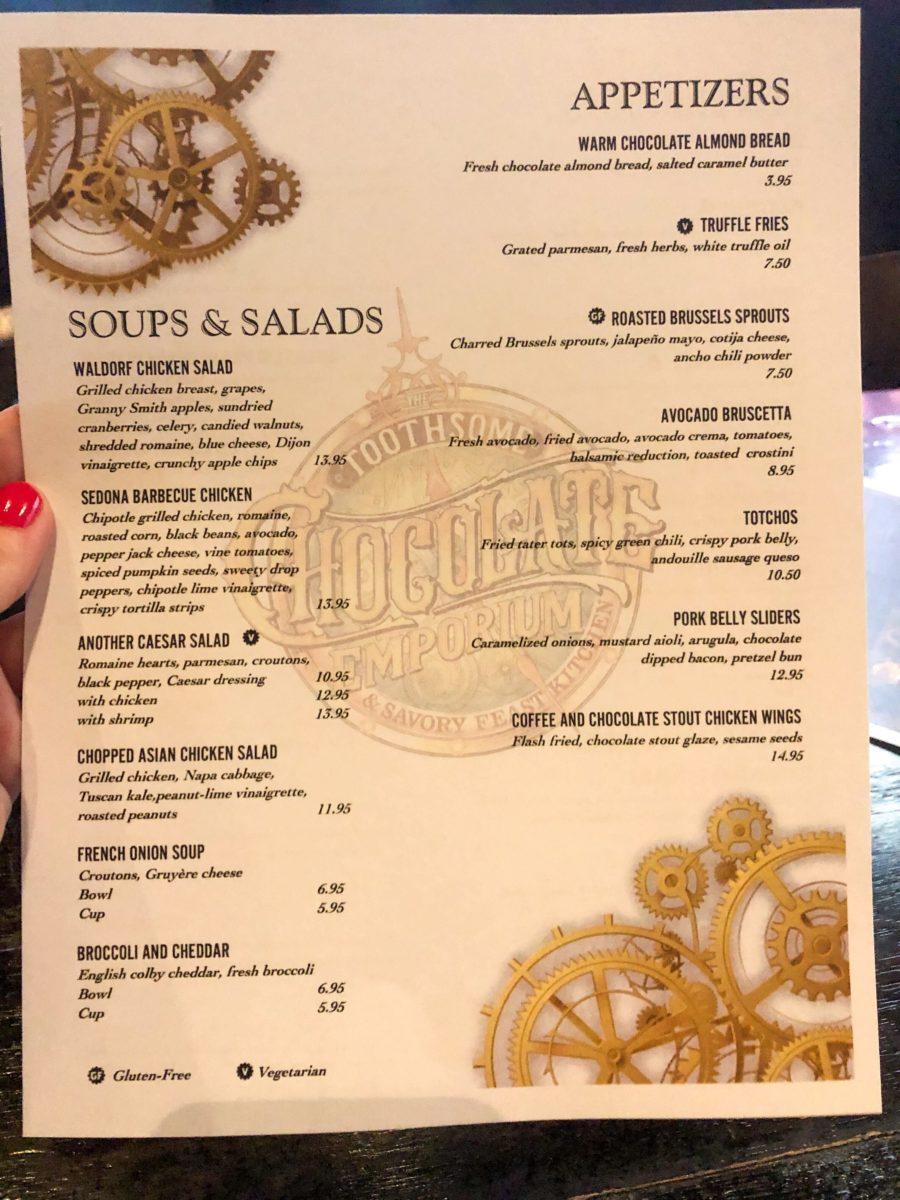 citywalk toothsome limited menu