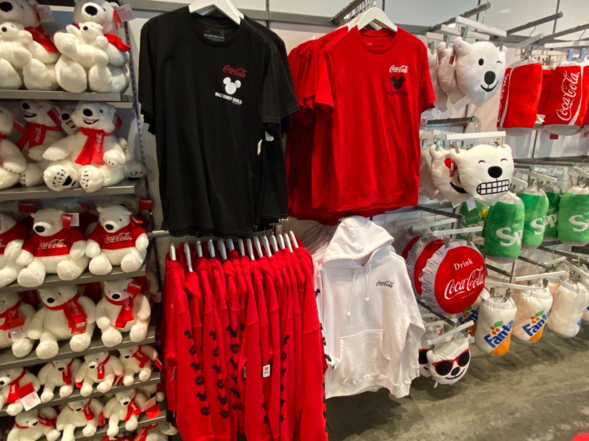 New Coca-Cola Walt Disney World Merchandise Arrives at Disney Springs
