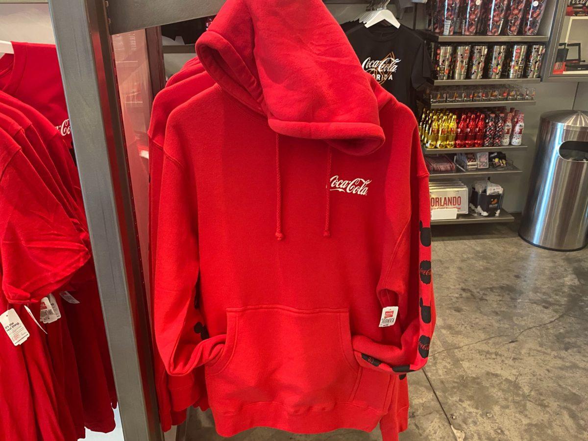Red Coca-Cola Hoodie - $64.95