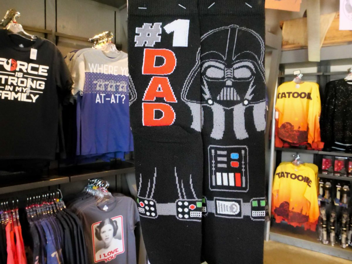 darth vader dad socks