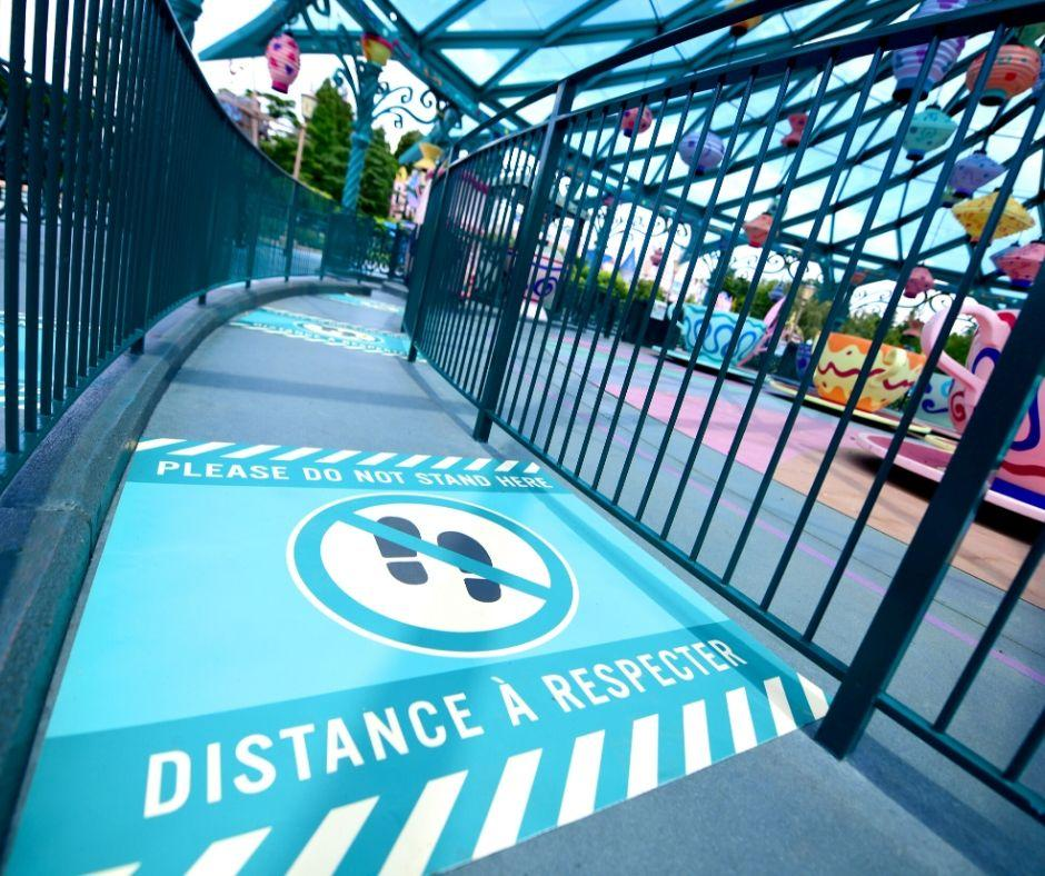 disneyland paris reopening health safety social distancing twitter