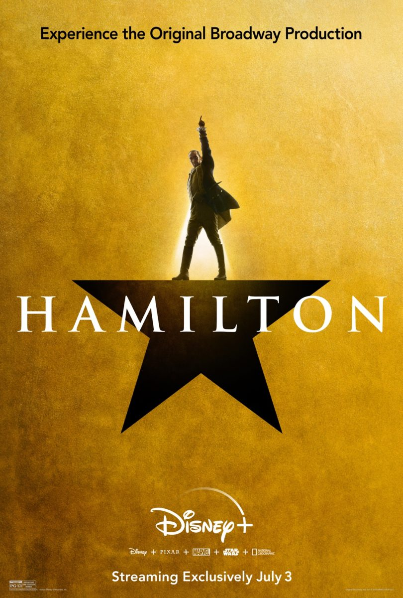 "New Movie Posters for ""Hamilton"" Shared Ahead of Disney+ Release ..."