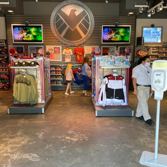 marvel superhero hq store reopened