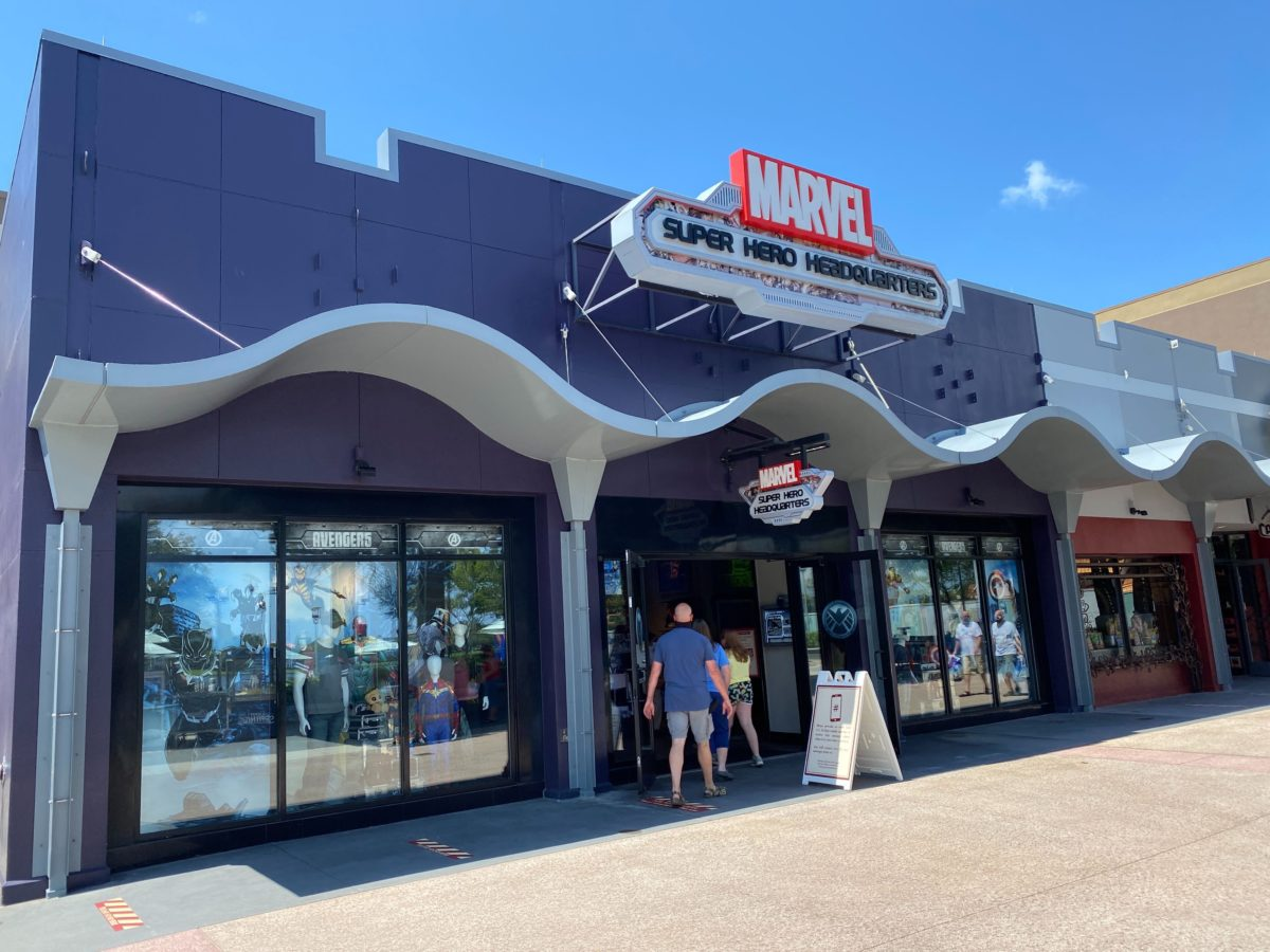marvel superhero hq store reopened