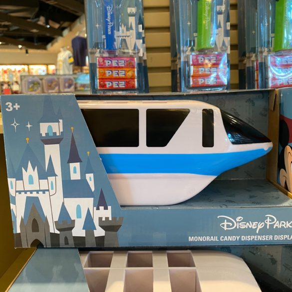 monorail pez display