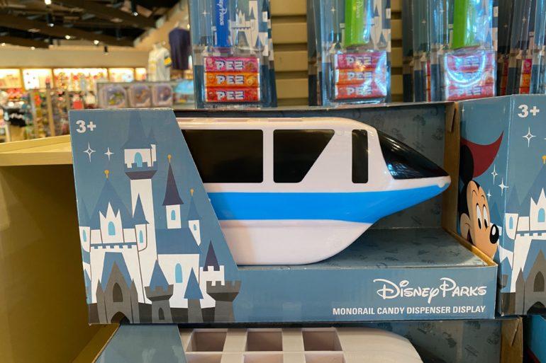 monorail pez display