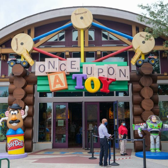 Once Upon A Toy Reopens