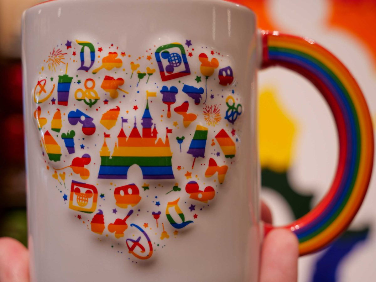 Rainbow Mickey Pride Mug - $14.99