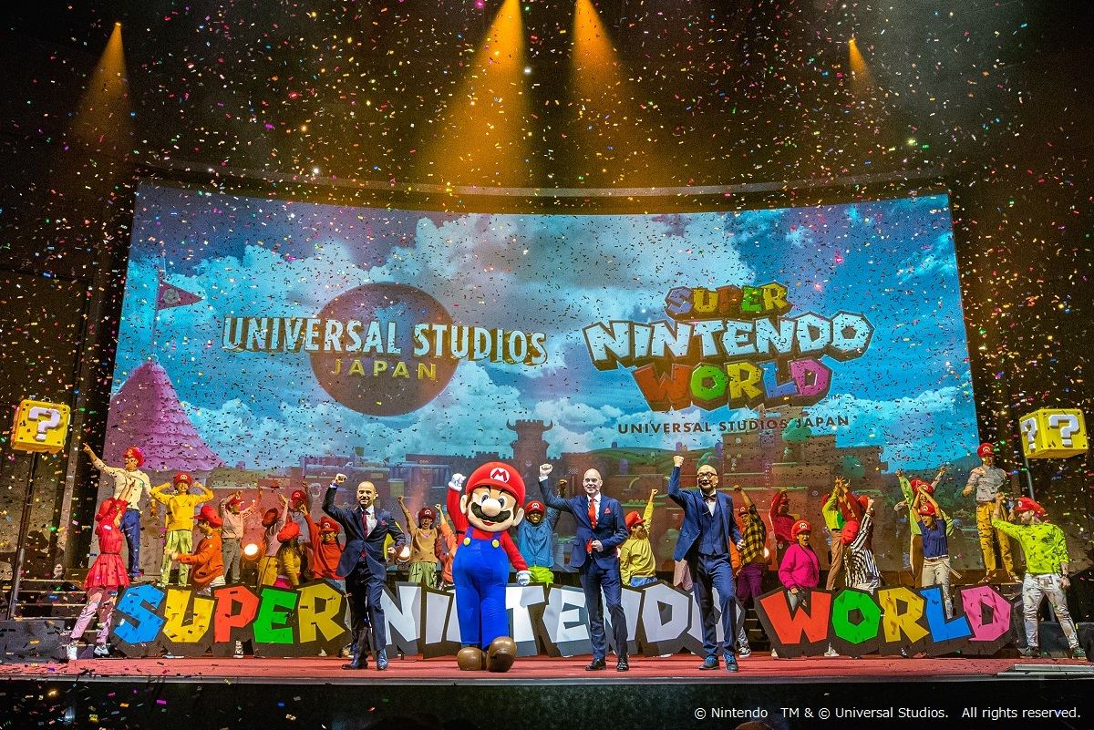 Super Nintendo World's opening officially delayed