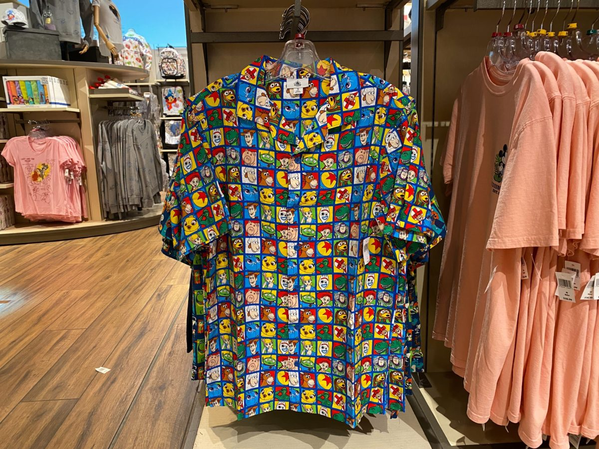 """Toy Story 4"" Button-Down Shirt - $59.99"