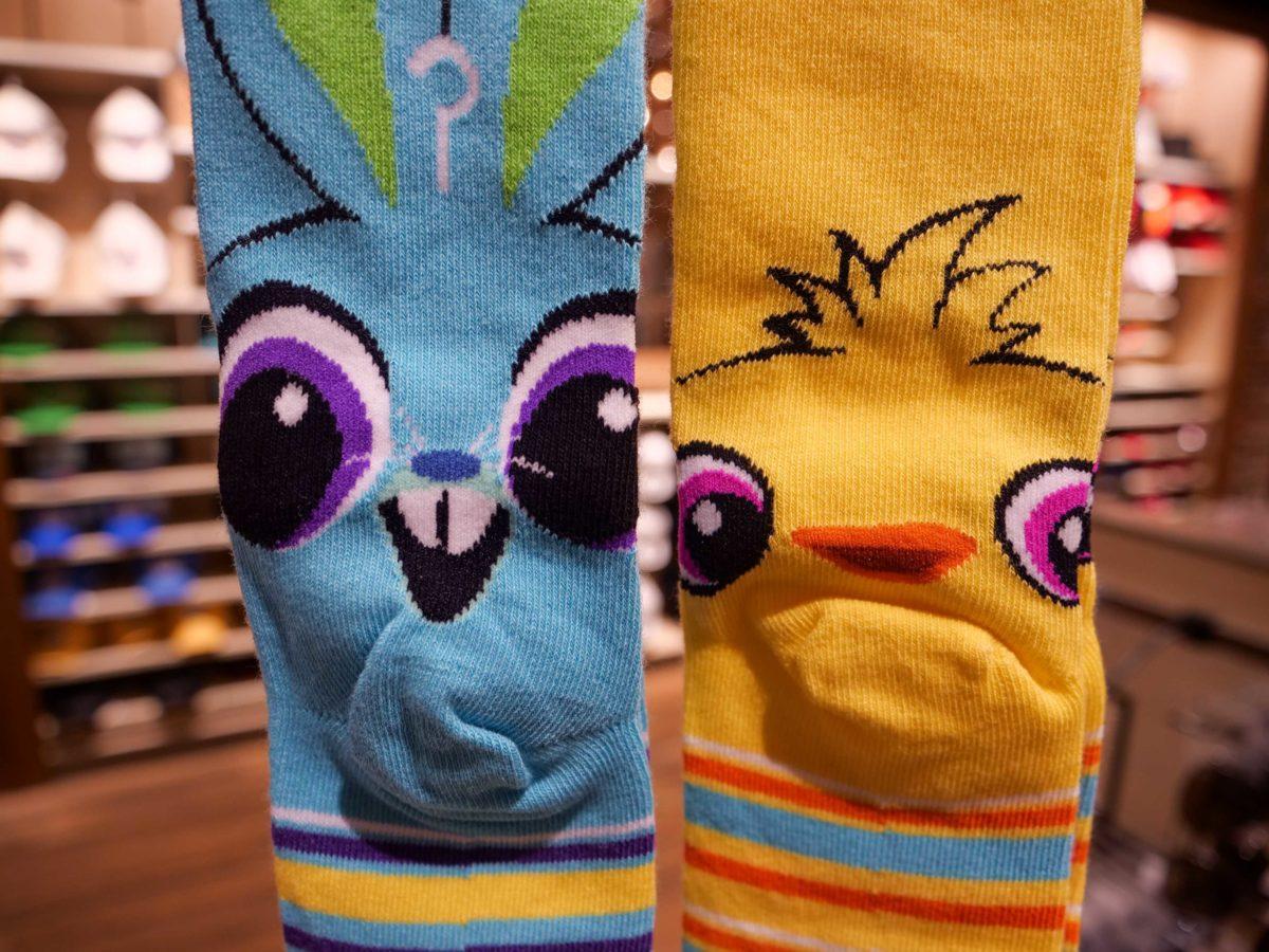 Toy Story 4 Ducky Bunny Sock World of Disney