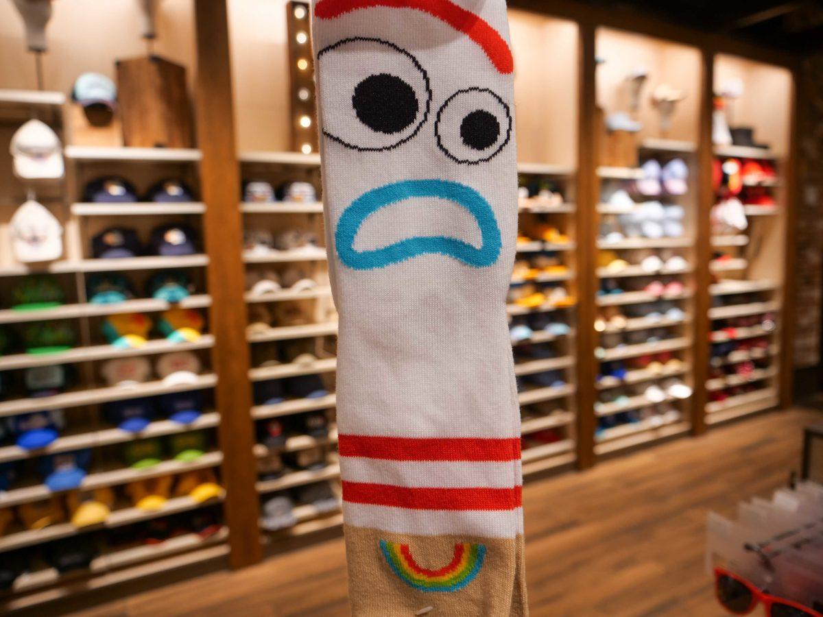 Toy Story 4 Forky Sock World of Disney