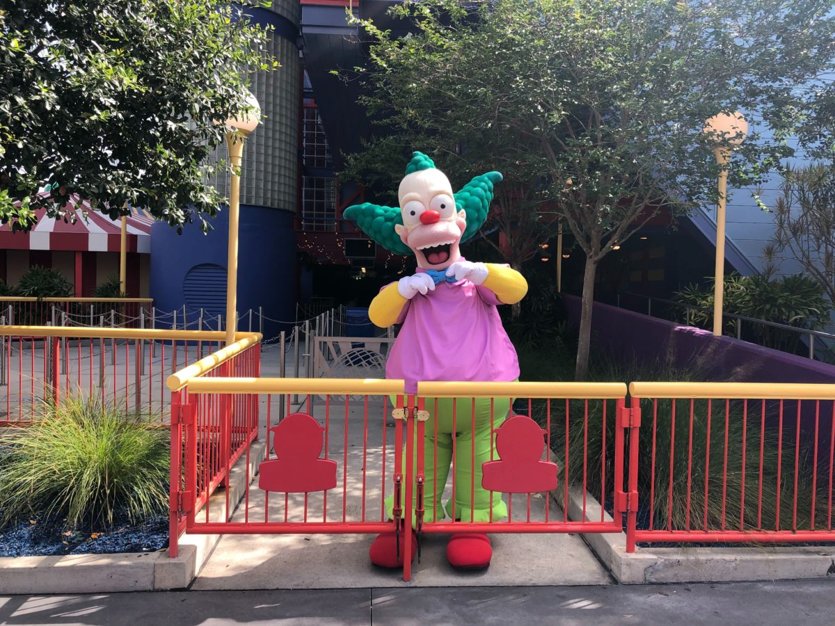 Krusty the clown meet and greet